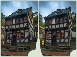 Stolberg im Harz 3-D / Stereoscopy / HDR / Raw by zour