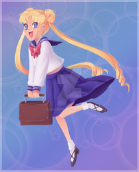 Usagi Tsukino by Kumkrum