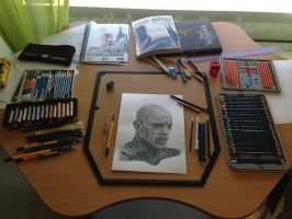 My Drawing Corner by AtomiccircuS