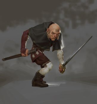 Jean-Michel the gallant swordsman by Lord-of-the-slugs
