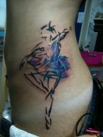 Abstract Dancer by SilkyTats