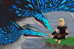 HTTYD seashocker and viking by InterfectorFactory