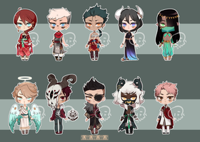 [Adopts] Chibi III | USD | Closed by skele-tea