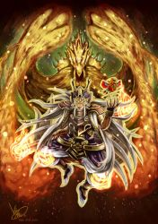 YUGIOH - Fire King - by KATAYAMA257