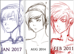 2011 - 2017 Improvement by the-suns-moon