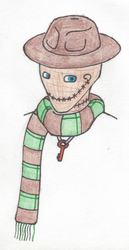 the Scarfed Scarecrow :OC by SteamHead1880