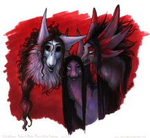 Teh 'Mighty Trio' by rage1986