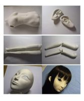 2nd Ball Jointed Doll Making-2 by hal-io