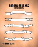 Banner Brushes by BSlegt