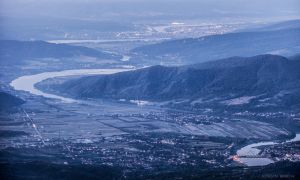Old Valley from Cozia Peak by borda