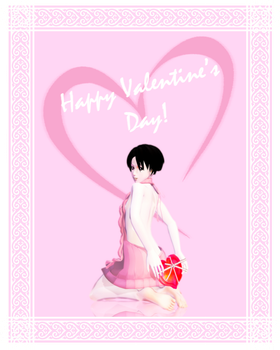 [MMDxPhotoshop] Happy Valentine's Day! by JoanAgnes