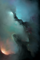 Nebula1 - Fire vs Water by ARTek92
