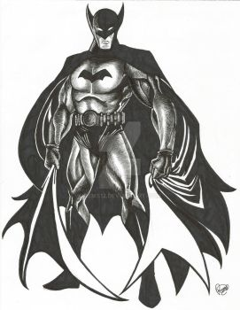The Bat-Man by Rems12