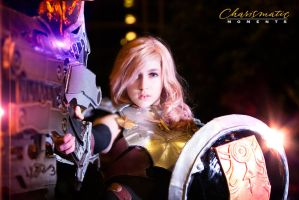 Lightning from Final Fantasy13 by wstoneburner