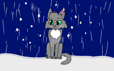 Standing in the Snow by GreenfeatherRants