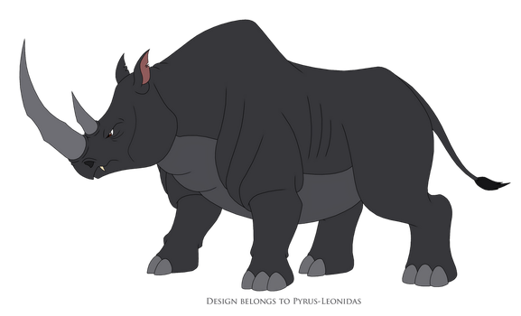 Boris the Rhino 2018 by Pyrus-Leonidas