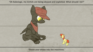Lefty and Sabotage by AaronMk
