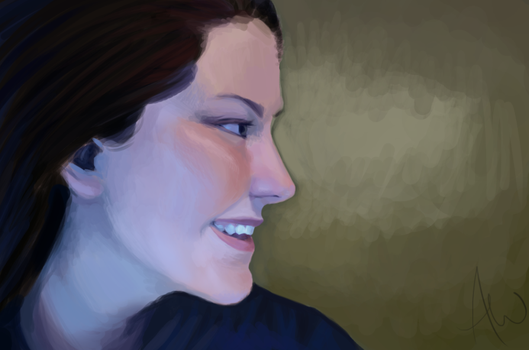 Speed Painting, Color Practice. by Smaashley