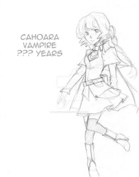 Character Sketch: Cahoara by LucentAtelier