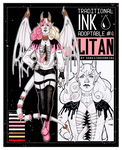 [OPEN] Adoptable Traditional Ink #4 Neapolitan by DarkstarVampire