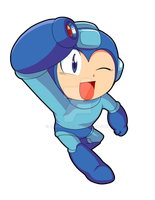 Rockman Classic by Kamira-Exe