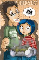 Coraline Father's Day by XJKenny