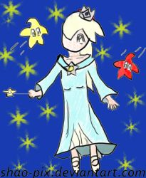 Request : Rosalina - Harmonie by Shao-Pix