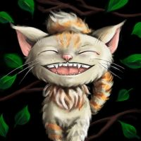 Cheshire Cat by AngieVX