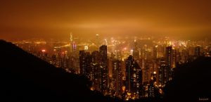 Gold Hong Kong by haryarti