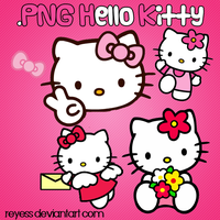 png hello kitty by Reyess