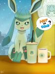 Hot or Cold? ( Glaceon ) by Winick-Lim