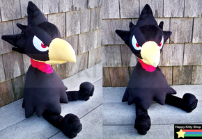 Tokoyami Plush by HappyKittyPlushies