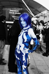 Cosplay: Cortana by palmereap