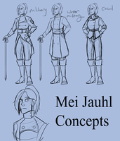 Mei concepts by Lozey