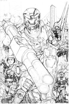 In Your Face Pencils by ScottAmbruson