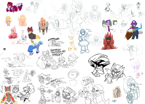 Weekend Drawpile 11 Return of The WAA by Essai