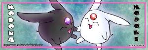 Mokona and Modoki by akane-no-Hime