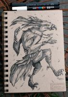 Inktober 7 by Key-Feathers