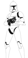 Clone Trooper with DC-15S v2 by FBOMBheart
