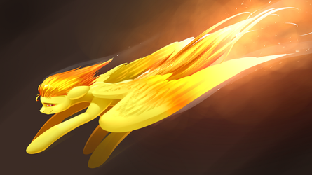 Spitfire On Fire by Underpable