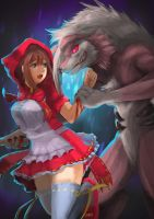 The Little Red Riding Hood by atorot