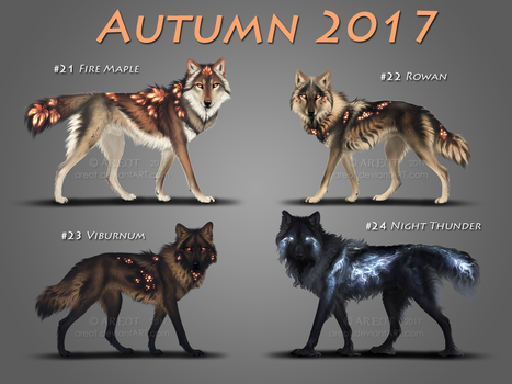 Autumn Lumens   CLOSED by areot