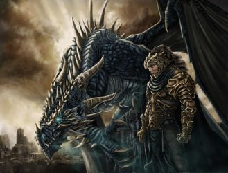 Aryon and Norgaroth by Maik-Schmidt