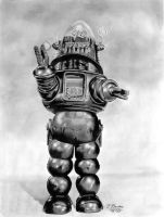 Robby The Robot by mmustangg