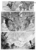 chronopolis comic page by Absurdostudio-Krum