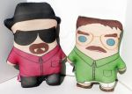 Walter White Doll by Cyber-Scribe-Screens