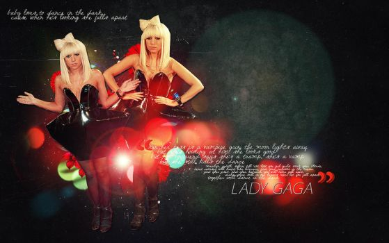 Lady Gaga Wallpaper 1440 x 900 by Tunity