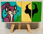 Magnets: Rattata and Cronus by wolf-girl87