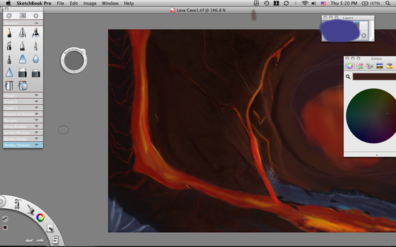 WIP: Lava Cave by Jane2Audron