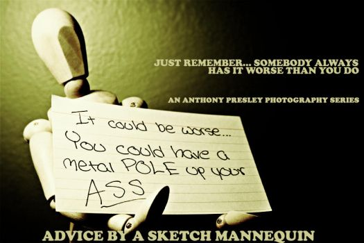 'Advice by a Sketch Mannequin' by AnthonyPresley